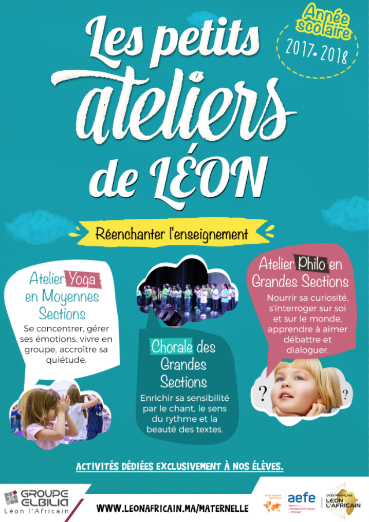 ATELEIRS MATERNELLE