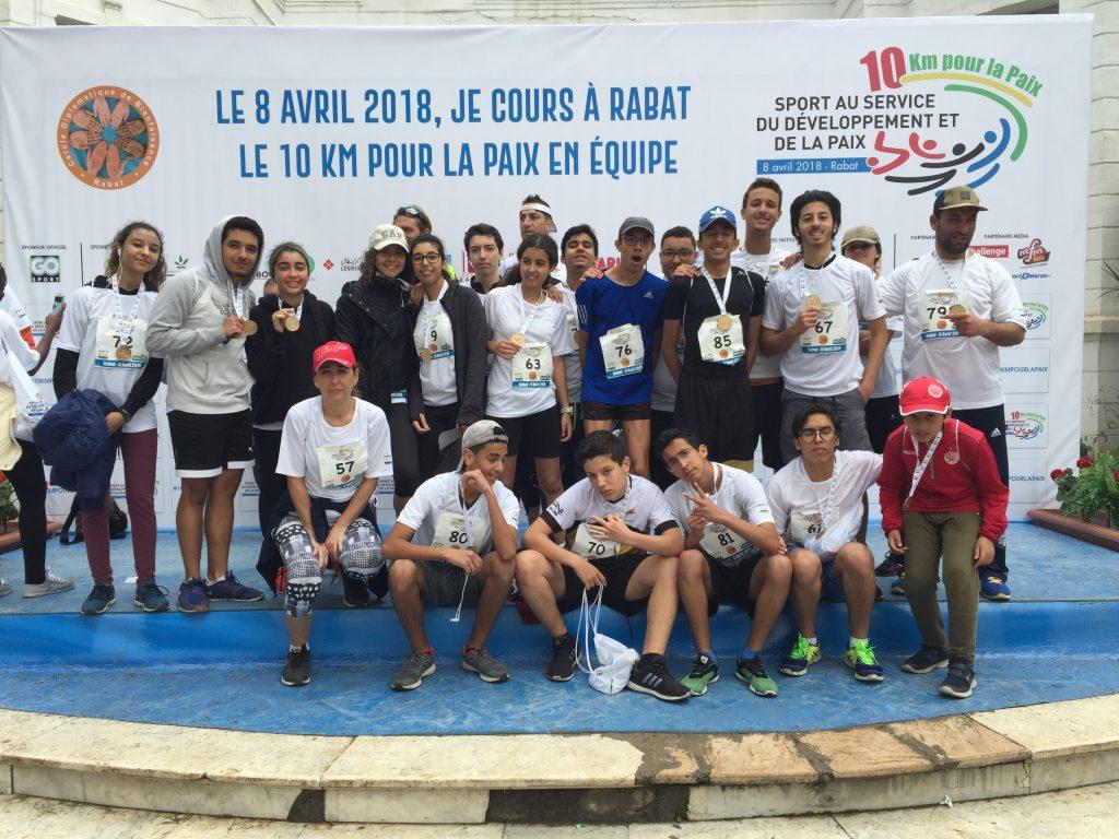 10 Km pour la paix LFLA 1